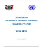 United Nations Development Assistance Framework (UNDAF) 2012 - 2015