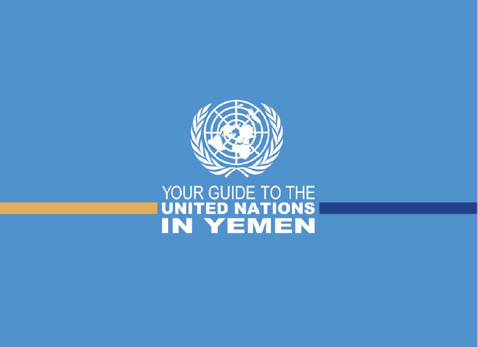Your Guide to the United Nations in Yemen (2016)