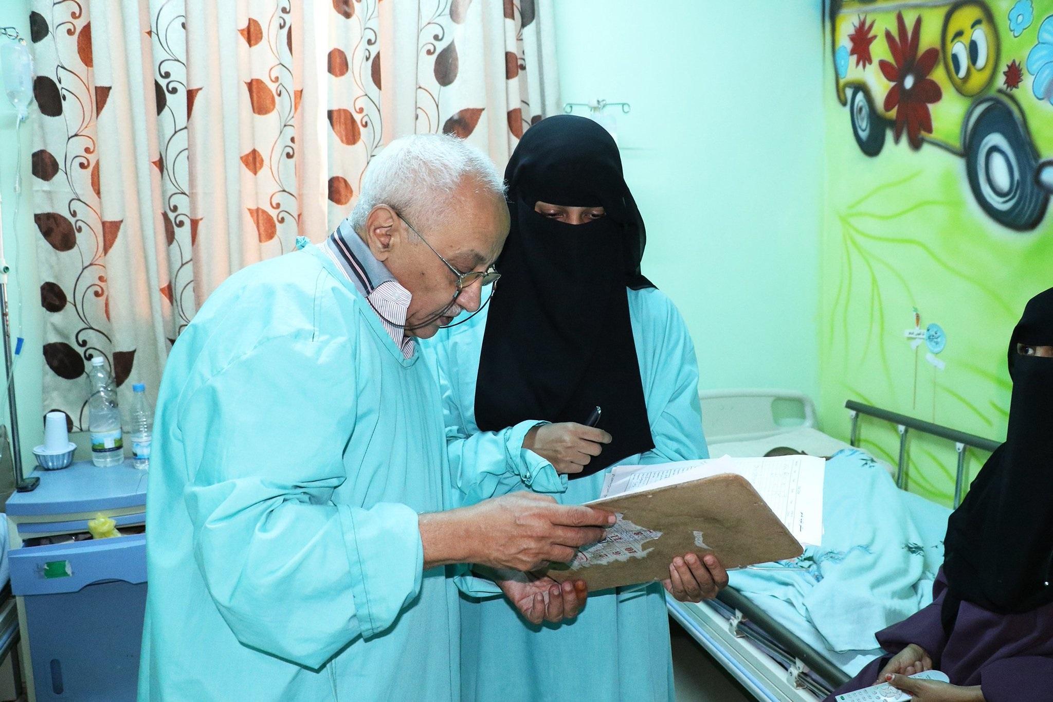 Dr Abdulrahman Al-Hadi faces a sad reality daily