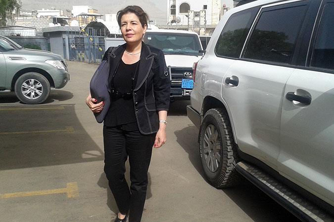 Head of Office for UN Women in Yemen Dina Zorba