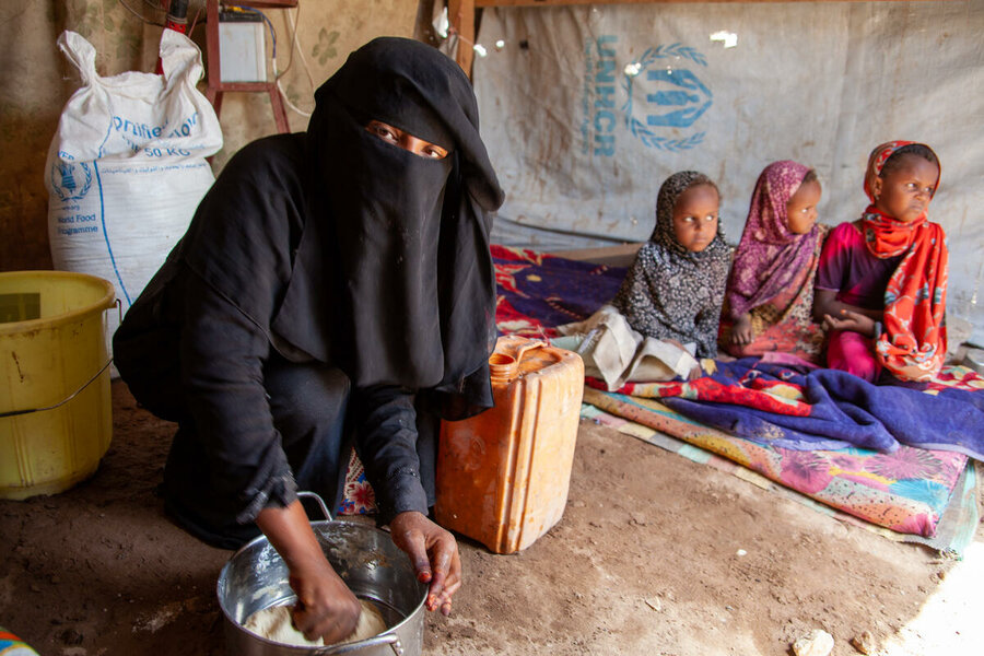 Families on the brink of famine in Yemen cannot wait