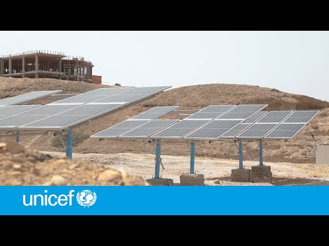 Solar power delivering clean water