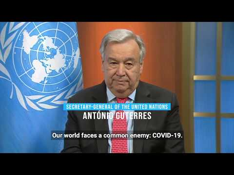 UN chief appeals for global ceasefire to focus on the fight againt COVID-19